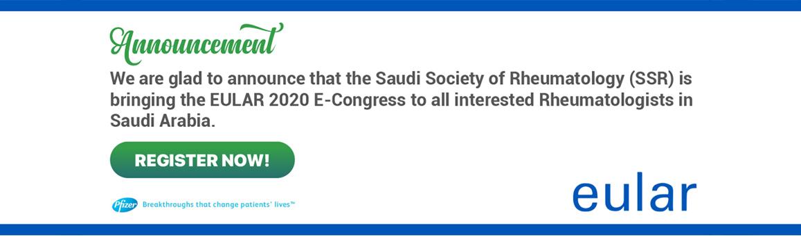 EULAR 2020 E-Congress