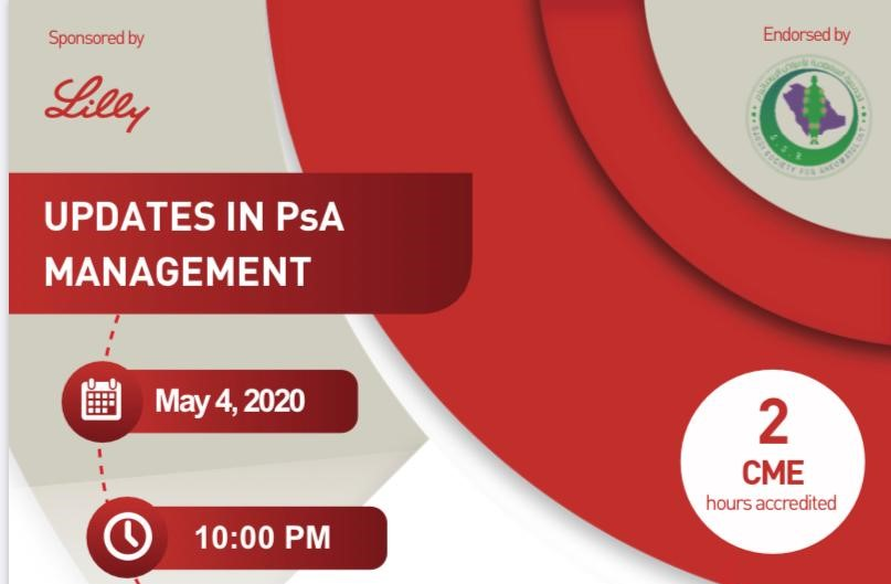 UPDATES IN PsA MANAGEMENT