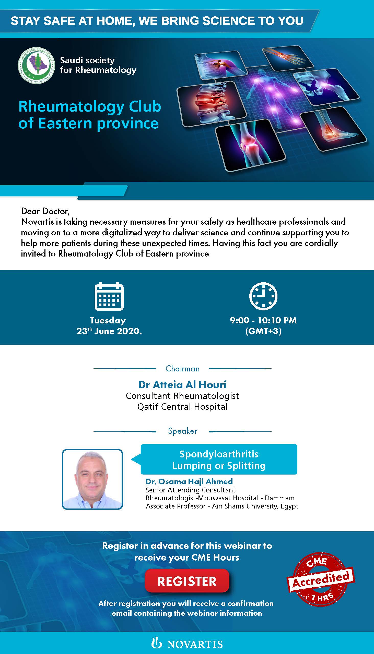 Rheumatology Club of Eastern province