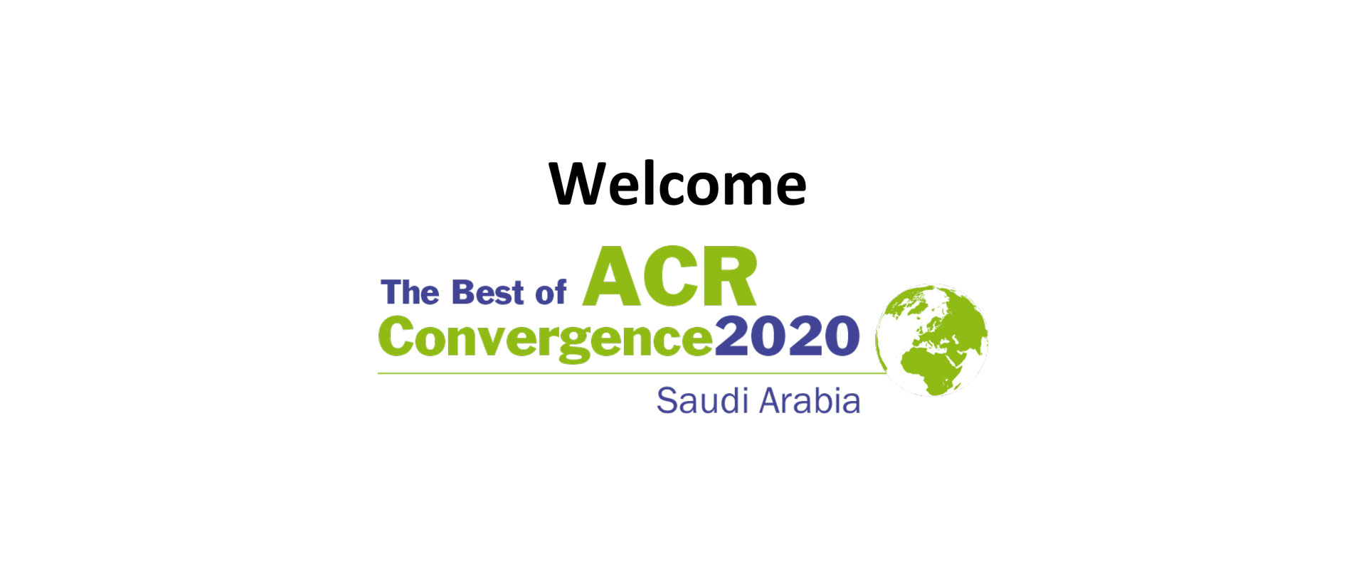Best of ACR convergence webinar